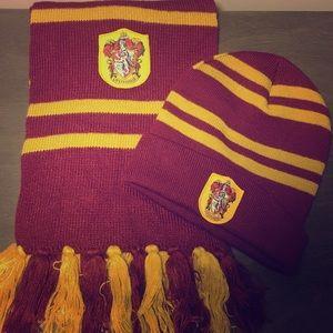 Harry Potter scarf+Hat